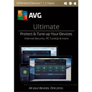AVG Ultimate 2017, Unlimited 2 Years for Windows (1-1000 Users) [Download]