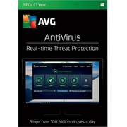 AVG AntiVirus 2017, 3 Users 1 Year for Windows (1-3 Users) [Download]