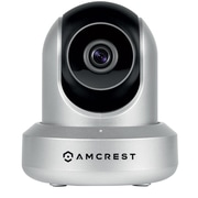 Amcrest HDSeries 720P WiFi Wireless IP Security Surveillance Camera System, Silver