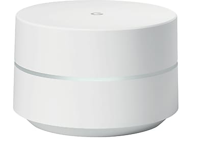Google WiFi AC1200 Dual-Band Whole Home Wi-Fi System (1-Pack) - NLS-1304-25