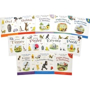Winnie-the-Pooh and Friends Book Set (12-Piece), Paperback, 9789999931427B