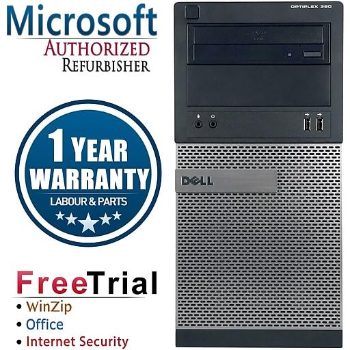 Dell OptiPlex 390 Refurbished Desktop Computer, Intel Core i5 3 1GHzhz, 8GB  Memory, 2TB HD