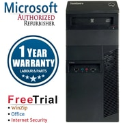 Refurbished Lenovo ThinkCentre M91P Tower Intel Core i3 3.1Ghz 4GB RAM 250GB Hard Drive Windows 10 Pro