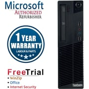 Refurbished Lenovo ThinkCentre M81 SFF Intel Core i3  3.1Ghz  4GB RAM  250GB Hard Drive Windows 10 Pro