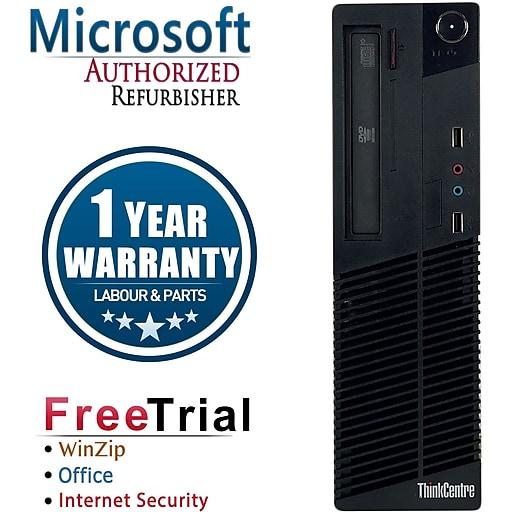 Lenovo ThinkCentre M81 Refurbished Desktop Computer, Intel Core i5 3.1GHz, 16GB Memory, 2TB HD