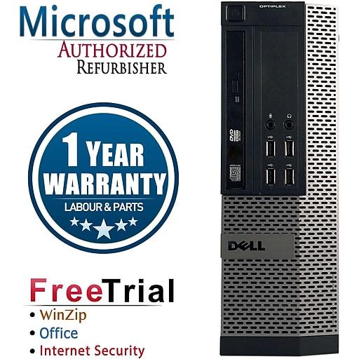 Dell OptiPlex 990 Small Form Factor Refurbished Desktop Computer, Intel Core i3 3.1GHzhz, 16GB Memory, 2TB HD (16VFDEDT1152)