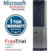 Refurbished Dell OptiPlex 790 Desktop Intel Core i3 3.1Ghzhz 8GB RAM 2TB Hard Drive Windows 10 Pro
