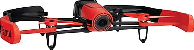 Parrot BeBop Drone Feather Weight Quadcopter With 14 MP Flight Camera, Red