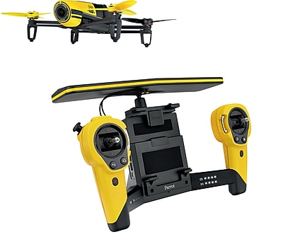 Parrot BeBop Drone Quadcopter with Skycontroller Bundle (Yellow)
