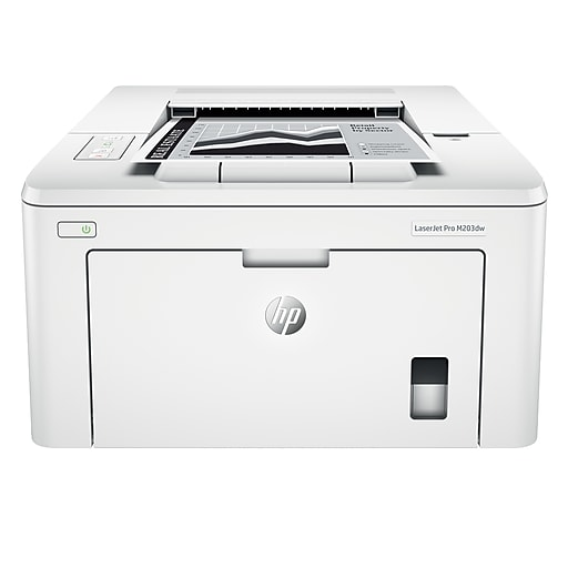 HP LaserJet Pro M203dw Wireless Laser Printer with Two-Sided Printing  (G3Q47A)