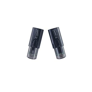 Staples 32GB USB 2.0 flash drive, 2-Pack, Black