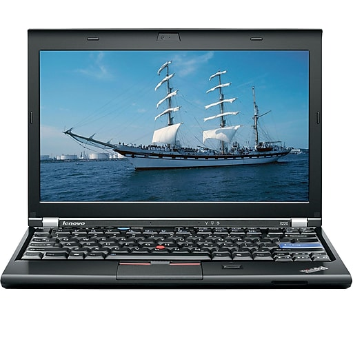"Lenovo ThinkPad X220 12"" Refurbished Laptop, Intel Core i5 2.5GHz, 8GB Memory, 500GB HDD, Windows 10 Pro"