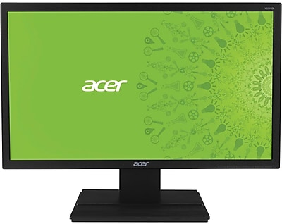 "Acer - 21.5"" LED HD Monitor - Black V226HQLBBD"