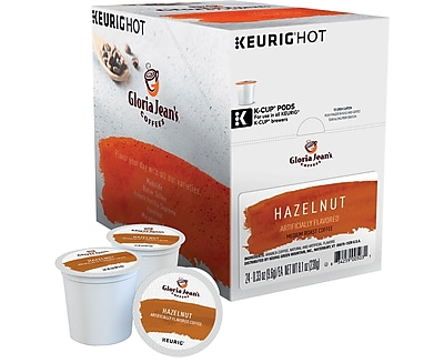Keurig® K-Cup® Gloria Jean's® Hazelnut Coffee, 24 Count