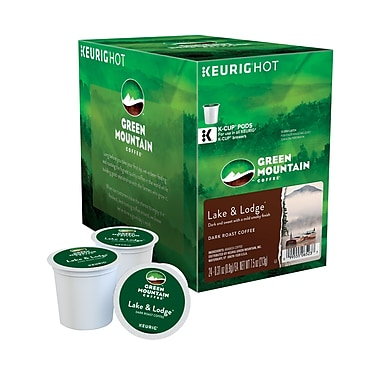 Keurig® K-Cup® Green Mountain® Lake & Lodge Coffee, Regular, 24/Pack