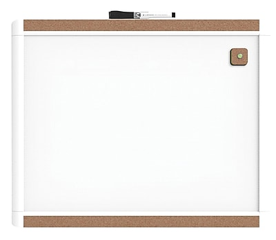 U Brands PINIT Magnetic Dry Erase Whiteboard, 20