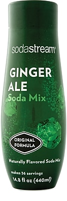 SodaStream Ginger Ale Sparkling Drink Mix, 440ml