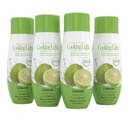 Sodastream 440ml Cooking Light® Limeade Sparkling Drink Mix, 4 Pack