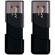 PNY Attache 64GB USB 2.0 Flash Drive 2-pack