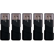PNY Attache 64GB USB 2.0 Flash Drive 5-pack