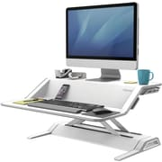 Fellowes Lotus™ Sit Stand Workstation - White