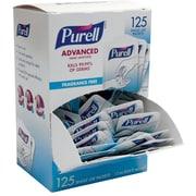 PURELL® Advanced Hand Sanitizer Singles, Sterile, 125/Ct