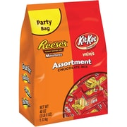 HERSHEY'S Chocolate Mix Assortment (REESE'S Miniatures & KIT KAT Miniatures), 40 oz