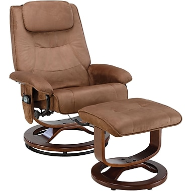 Relaxzen PVC Leisure Recliner, Bronze (60-078011)