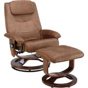 Relaxzen PVC Leisure Recliner, Bronze (60-078011)