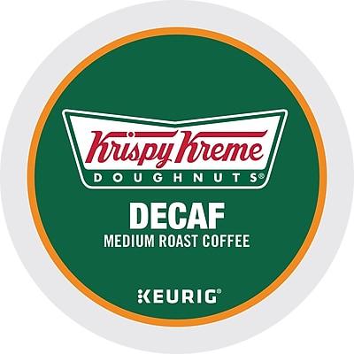 Keurig K-Cup Krispy Kreme Doughnuts Medium Roast Decaffeinated Coffee, 24 Count 2502771