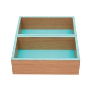 "Office by Martha Stewart™ Modular Trays, 12.5"" x 3.75"" x 1.875"", Blue, 2 Pack (29732)"