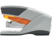 Swingline® Optima® Compact Reduced Effort Stapler, 25 Sheet Capacity, Gray/Orange (66412)