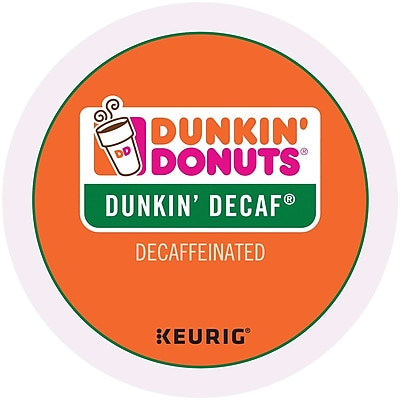 Keurig K-Cup Dunkin Donuts Decaf Coffee, 96 Count