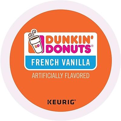 Dunkin' Donuts® French Vanilla Coffee, Keurig® K-Cup® Pods, Medium Roast, 96/Carton (400847)