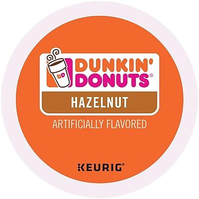 Dunkin' Donuts® Hazelnut Coffee, Keurig® K-Cup® Pods, Medium Roast, 96/Carton (400848)