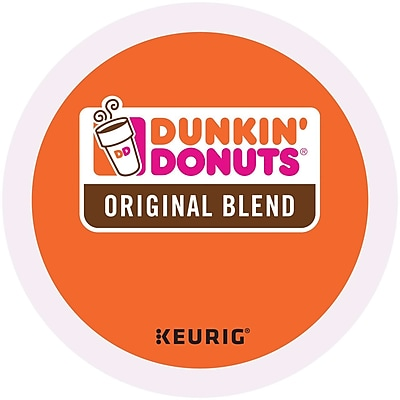 Dunkin' Donuts® Original Coffee, Keurig® K-Cup® Pods, Medium Roast, 96/Carton (400845)