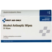 PhysiciansCare® by First Aid Only® Alcohol Pads, Box of 50 Individually Wrapped, Pack of 5 (51019C)
