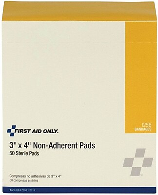 First Aid Only™ Non-stick Pad, 3