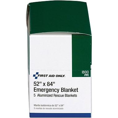 First Aid Only™ Emergency Blanket, 52