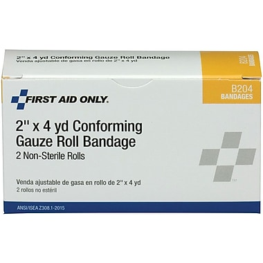 First Aid Only™ Conforming Gauze Roll Bandage, 2