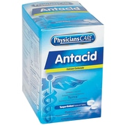 PhysiciansCare® Antacid Heartburn Medication, 50 Packets of Two Tablets, 420 mg (90089)