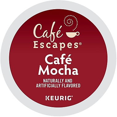 Keurig® K-Cup® Cafe Escapes® Cafe Mocha Coffee, 24 Count