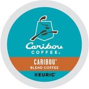 Caribou Coffee® Caribou Blend Coffee, Keurig® K-Cup® Pods, Medium Roast, 44/Box (357453)