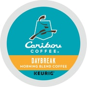 Caribou Coffee® Daybreak Morning Blend Coffee, Keurig® K-Cup® Pods, Light Roast, 24/Box (GMT6994)