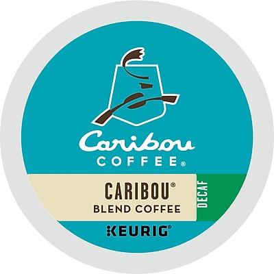 Caribou Coffee Caribou Blend Decaf Coffee K-Cups, Caribou Blend Decaf, 96/Carton (6995)