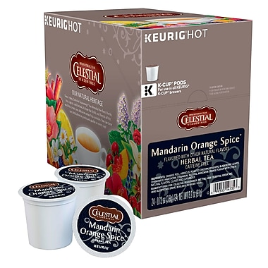 Keurig® K-Cup® Celestial Seasonings® Mandarin Orange Spice Tea, 24/Pack