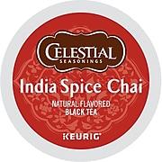 Celestial Seasonings India Spice Chai Tea, KeurigK-Cup Pods, 96/Carton (14738)