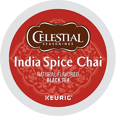 Celestial Seasonings® India Chai Black Tea, Keurig® K-Cup® Pods, 24/Box (GMT14838)