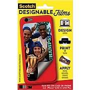 Scotch™ Designable Films, Apply to Case or Phone for iPhone® 6 & 6 Plus, 1 Film/Pack