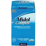 Midol Complete, 50 Packets of 2 Tablets (7964-50X24)